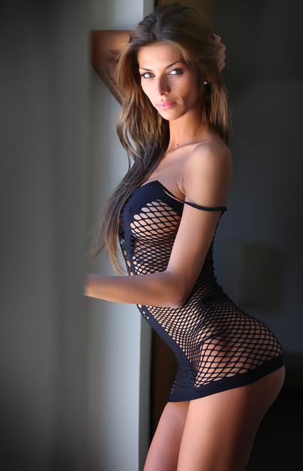Jolie cougar lingerie